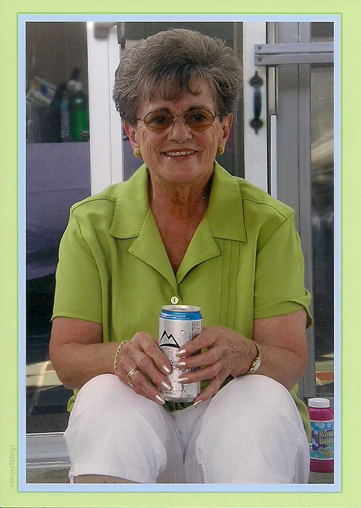 Lorraine with beer.jpeg